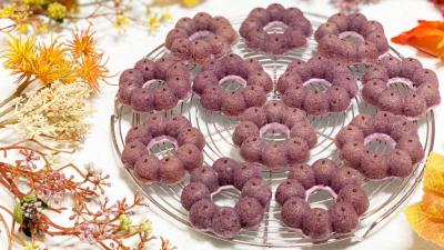 紫芋ドーナツ
