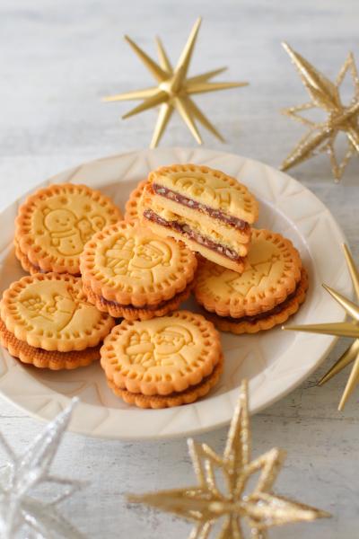 チョコナッツサンドクッキー