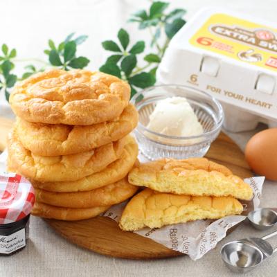 グルテンフリーの低糖質パン♪クラウドブレッド