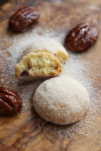 さとうきび糖のまんまるクッキー