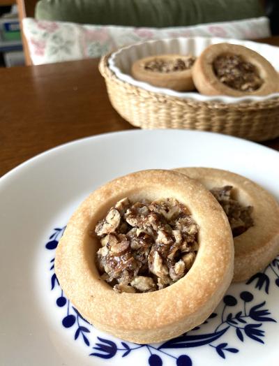サクサク♪ピーカンナッツのきびオリゴクッキー