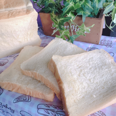 耳まで美味しい☆さつまいも食パン♪
