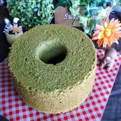 きびオリゴの抹茶米粉シフォン