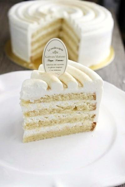 きび砂糖のショートケーキ