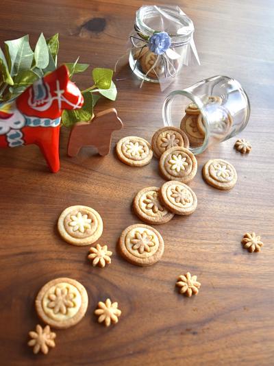 北欧風ジンジャークッキー