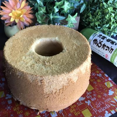 きびオリゴの米粉シフォン♪