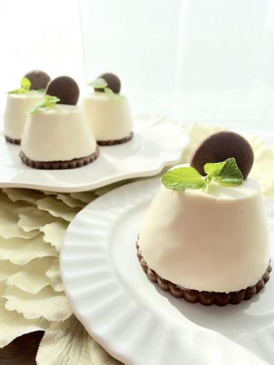 モノクロレアチーズケーキ