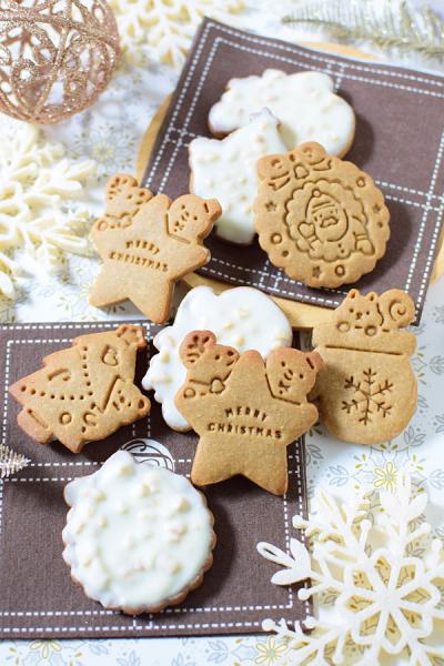 クリスマスカフェオレクッキー☆