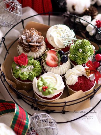 レッドベルベットカップケーキ