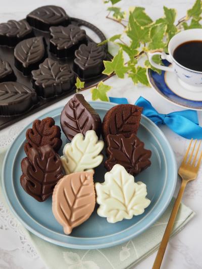 形がくっきりでかわいい♡チョコレートマドレーヌ♡