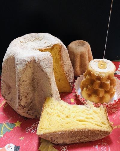 さとうきび糖&きびオリゴで仕上げるパンドーロ(パンドリーノ)
