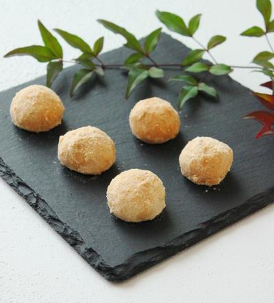米粉と和三盆のスノーボール