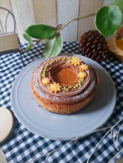 くりのチーズケーキ