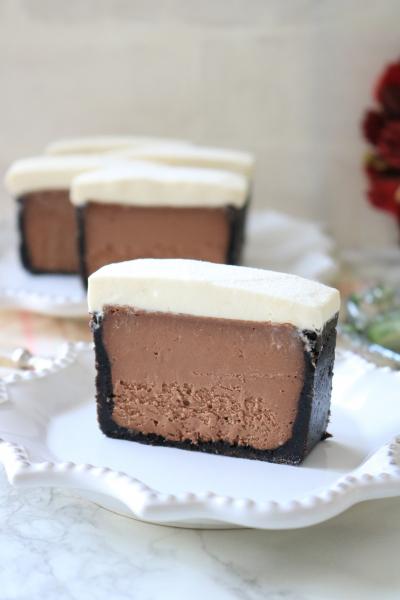 リッチショコラチーズケーキ