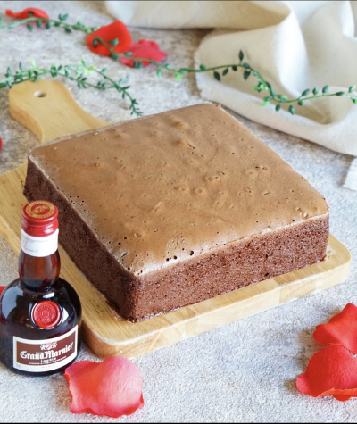 グランマルニエ香る ショコラスフレチーズケーキ