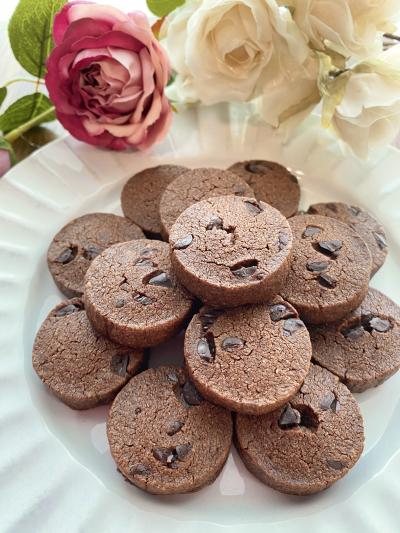 さくさく絶品♡ダブルチョコレートクッキー