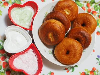きびもっちドーナツパン(きびオリゴ使用)