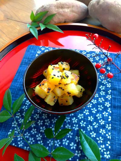 さつま芋のサイコロきび甘露