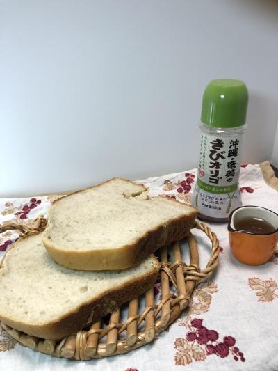 ホシノ天然酵母のバナナ食パン