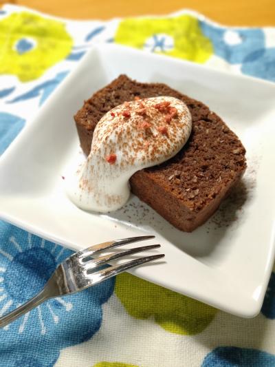 [グルテンフリー  ]チョコレートとココナッツのケーキ