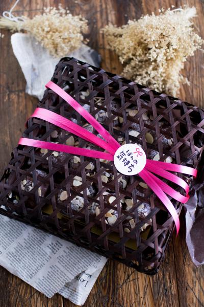チョコレートちぎりパンのラッピング