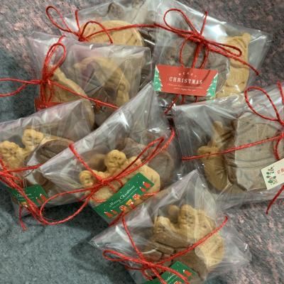 応用可能!クリスマス クッキーラッピング