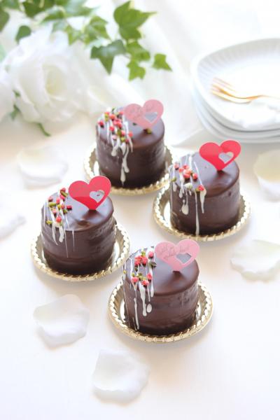 プティチョコケーキ ~プティガトースタイル