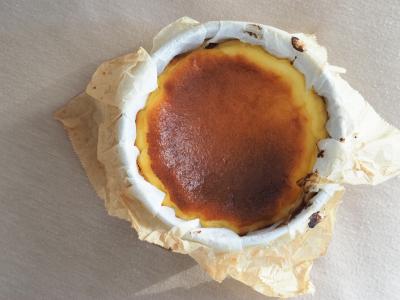 とろりバスクチーズケーキ (12cm 4号デコ)