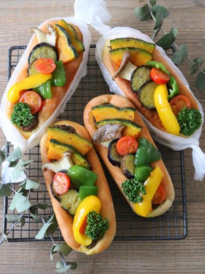 焼き野菜カレーパン