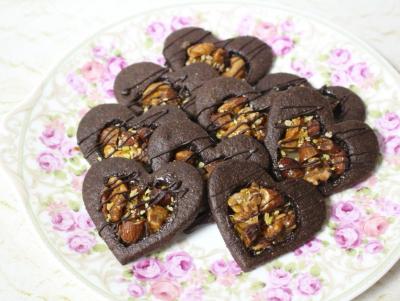 キャラメルナッツのショコラクッキー