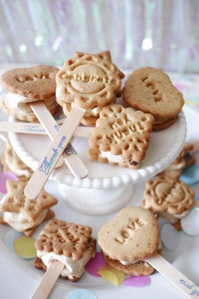 コーヒーマシュマロのサンドクッキー