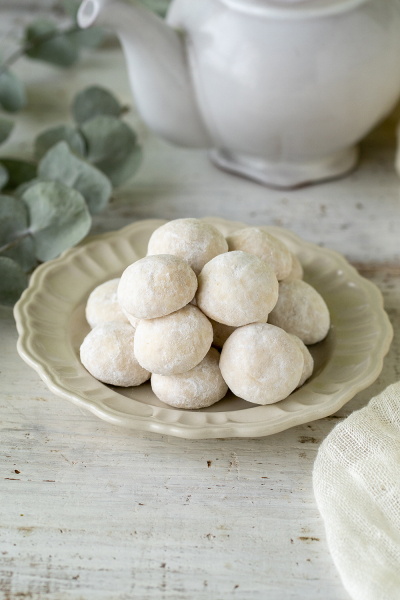 3種のクッキーキットで作る 簡単スノーボール