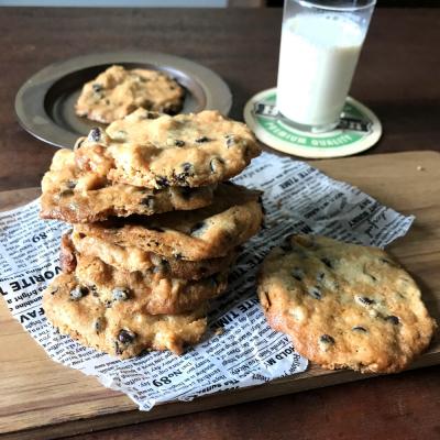 ホットケーキミックスでチョコナッツクッキー