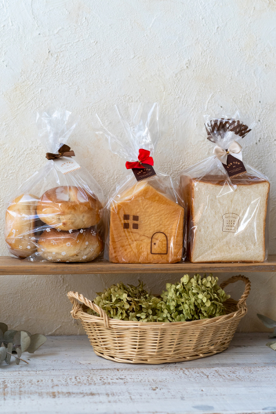 食パン1斤袋を使ったラッピング