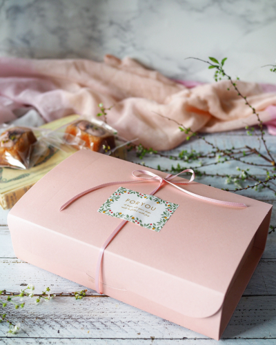 桜のティグレのラッピング