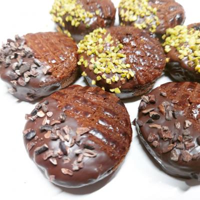 ラム酒香る大人の厚焼きクッキー
