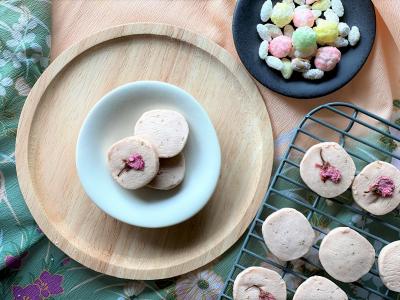 春色の桜あんクッキー☆卵・乳製品不使用