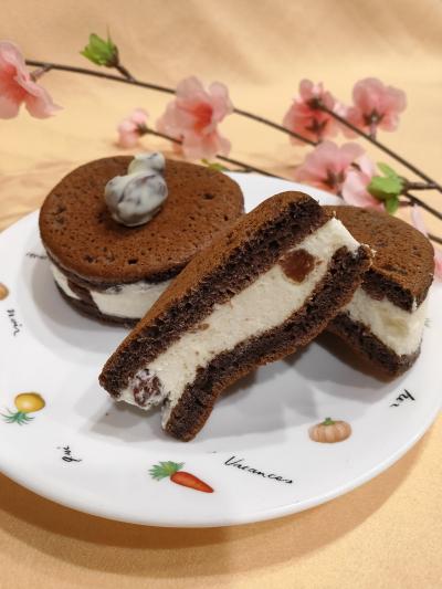 【レーズン2021】カルフォルニアレーズン 生チョコどら焼