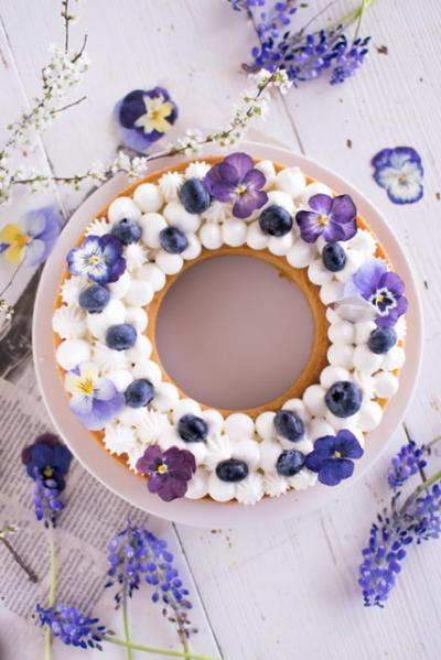 お花のリースタルト