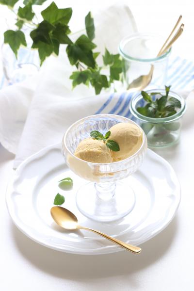 レアチーズ風♪豆乳マンゴーアイス
