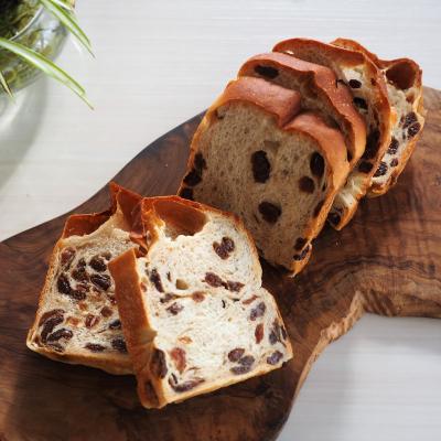 レーズンたっぷり・大満足のブドウ食パン