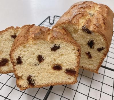 バター&オイル不使用!レーズンのパウンドケーキ