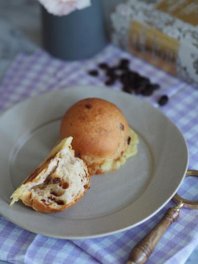 【レーズン2021】レーズンたっぷりカリカリチーズパン