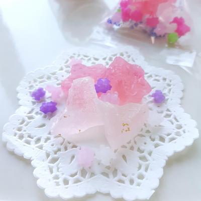 食べる宝石☆琥珀糖