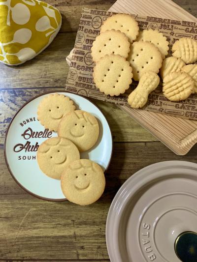 レトロなピーナッツクッキー