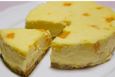 混ぜるだけ簡単!塩ナッツシュクレの濃厚チーズケーキ