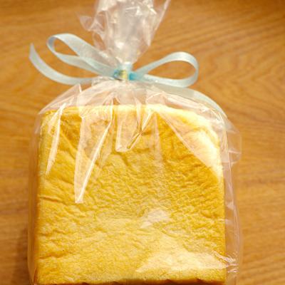 1斤型食パンのプレゼント用ラッピング