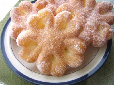 母の日にも♡ ふんわりお花ドーナツ♪