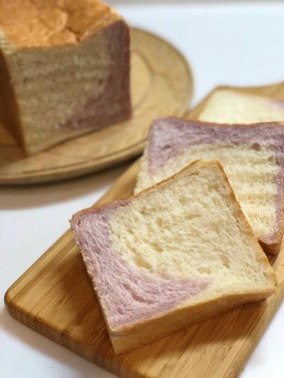 むらさきいものツイスト食パン