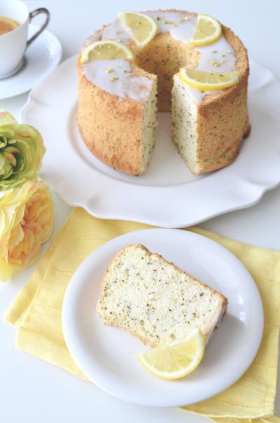 レモンティーシフォンケーキ